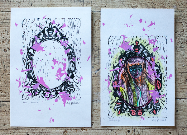 Ily Phelps Printmaking